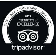 certificaat van excellence hotel St Pol